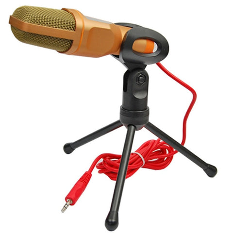 Universal Condenser Microphone With Tripod