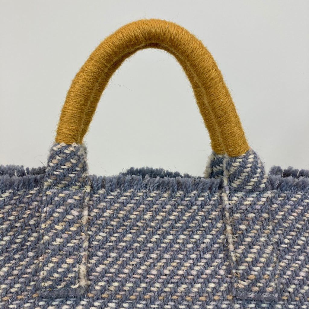Milnsbridge Alice - Handmade Woollen Bag - Teal Blue