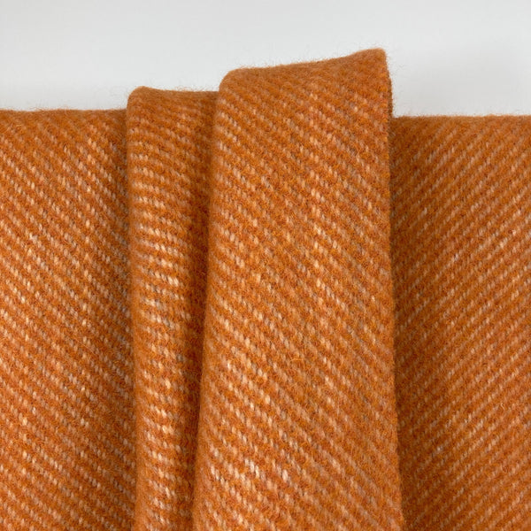Milnsbridge Blanket - 100% Wool - Orange