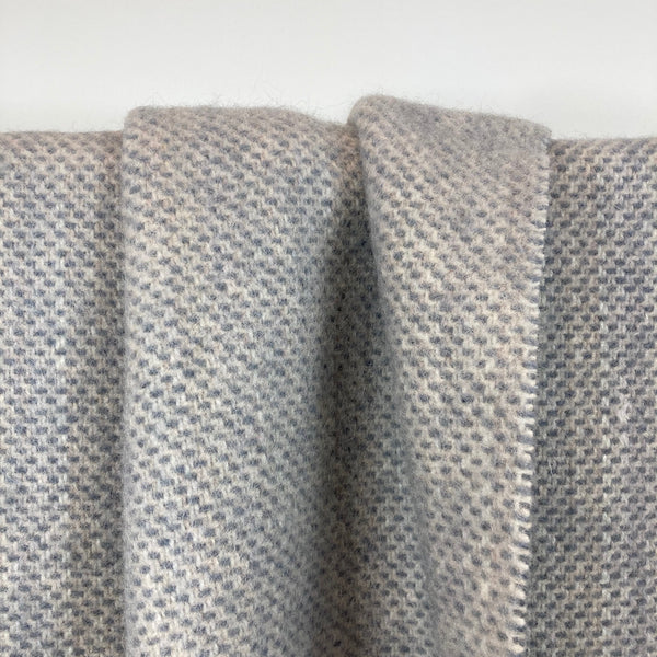 Milnsbridge Blanket - 100% Wool - Grey