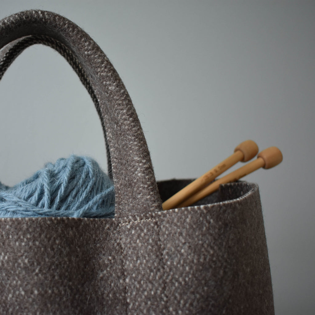 Stanningley - Handmade 100% Wool Project Bag