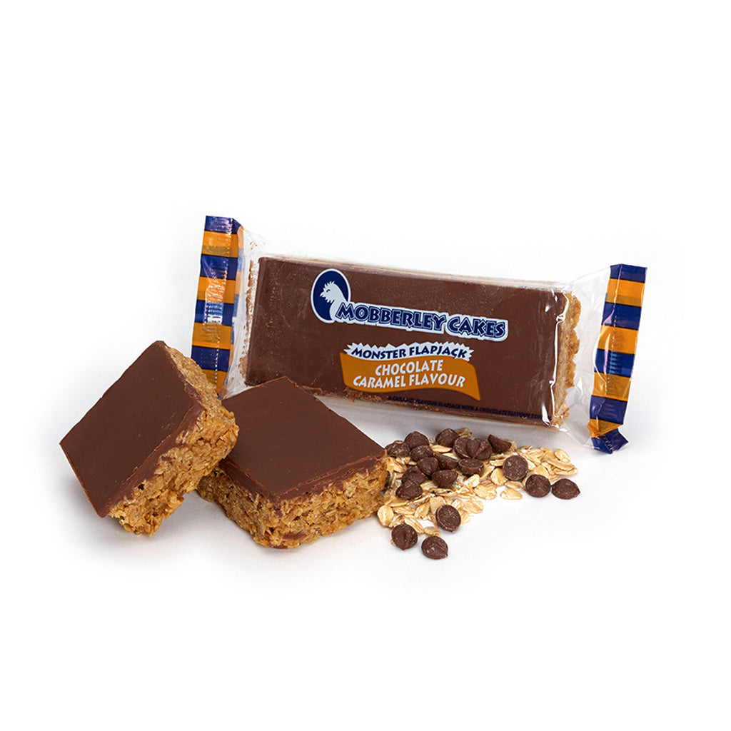 Chocolate Caramel Monster Flapjack