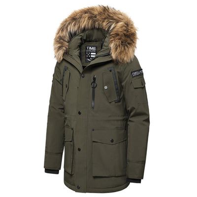 Waterproof Jackets Parka Men - CHIC - U