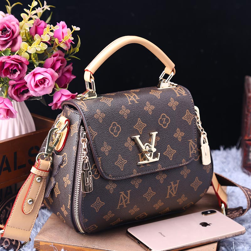 New Brand Fashion Printed Leather Handbag Casual One Shoulder Messenger Big Bags High Quality Women Purse and Handbags