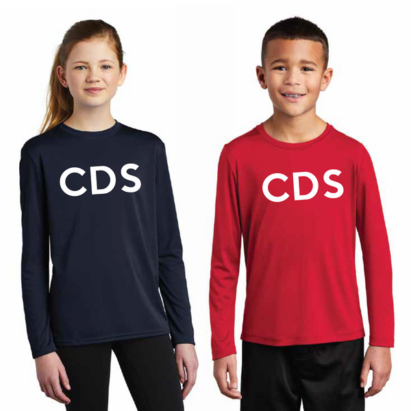 Long Sleeve Performance Tee Shirt (Youth/Adult)