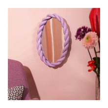 Afbeelding in Gallery-weergave laden, Mirror braid oval lilla