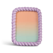 Load image into Gallery viewer, Photo frame braid rectangle lilac