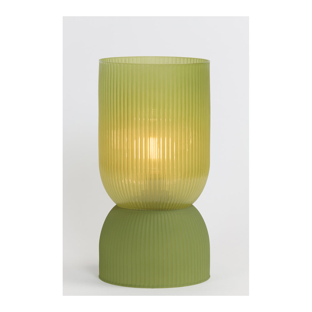 Table lamp LED olive green