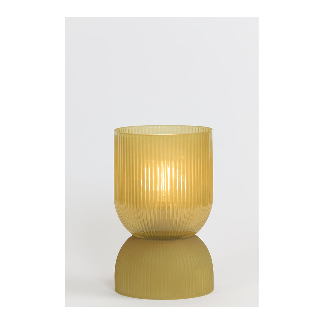 Table lamp LED yellow ochre small