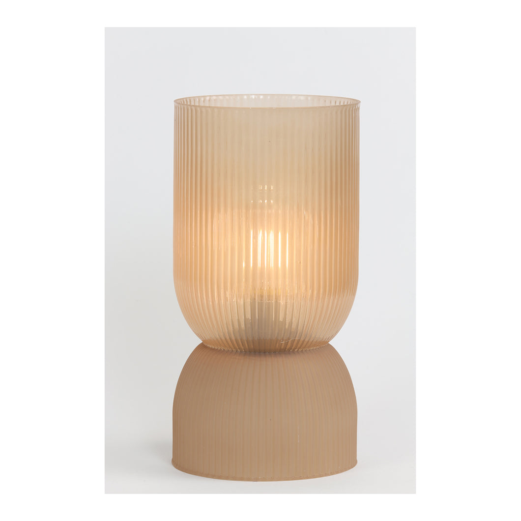 Table lamp LED peach