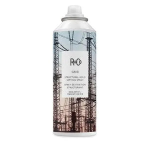 R+Co GRID Structural Hold Setting Hair Spray/5 oz