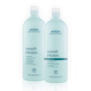 Aveda Smooth Infusion Shampoo and Conditioner 33.8 oz SET