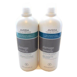 Aveda Damage Remedy Shampoo & Conditioner 33.8 oz each SET SALON PRODUCT