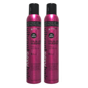 Sexy Hair Vibrant Color Lock Hairspray 8 oz each Pack of 2