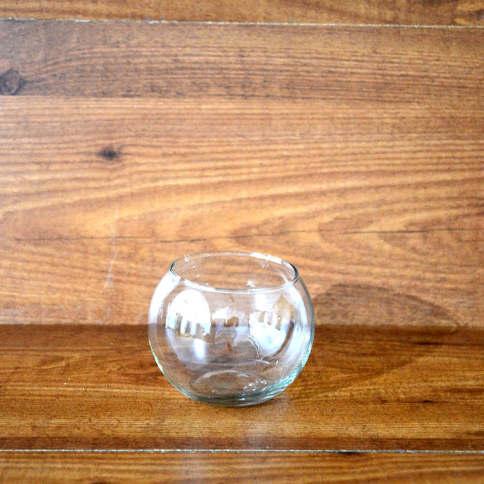 Round Mini Glass Bowl (Without Neck Border)