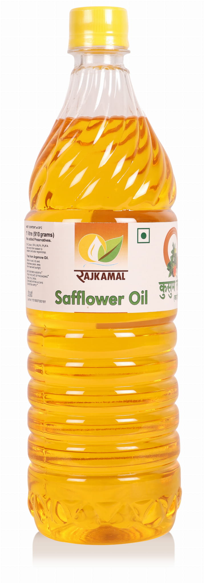 Natural Safflower Oil - 1 Litre