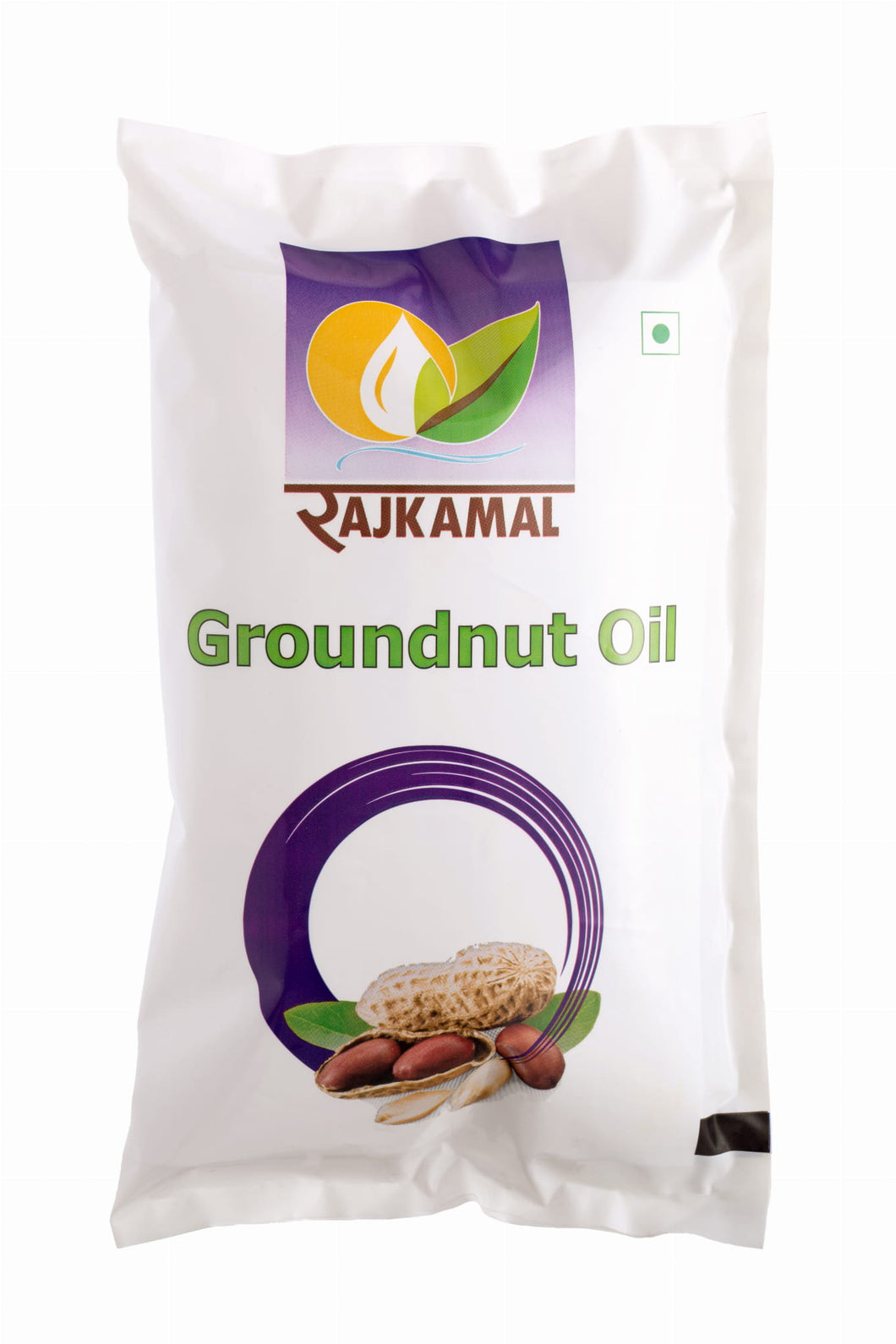 Natural Groundnut Oil - 1 Litre Pouch