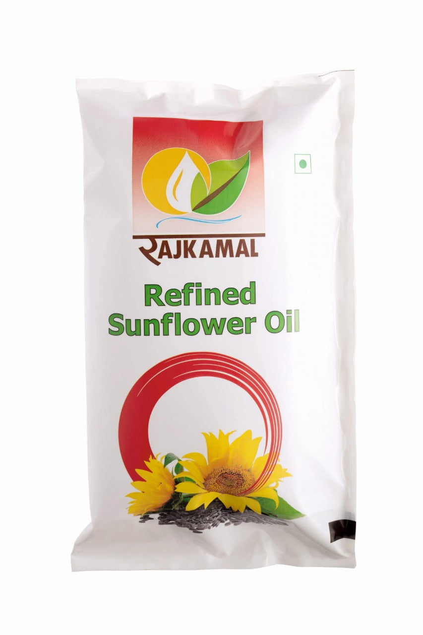 Refined Sunflower Oil - 1 Litre Pouch