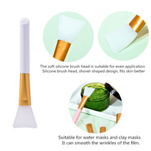 Load image into Gallery viewer, Rose Quartz Face Roller, Gua Sha, & Mask Brush Set