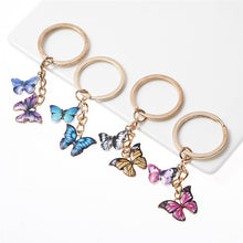 Load image into Gallery viewer, Butterfly Keychain