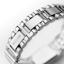 Load image into Gallery viewer, Seksy Edge® Silver Coloured Stone Set Bracelet Watch