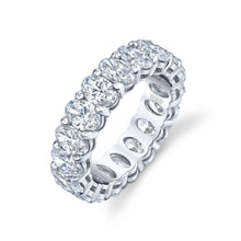 Load image into Gallery viewer, Oval Cut Eternity Ring