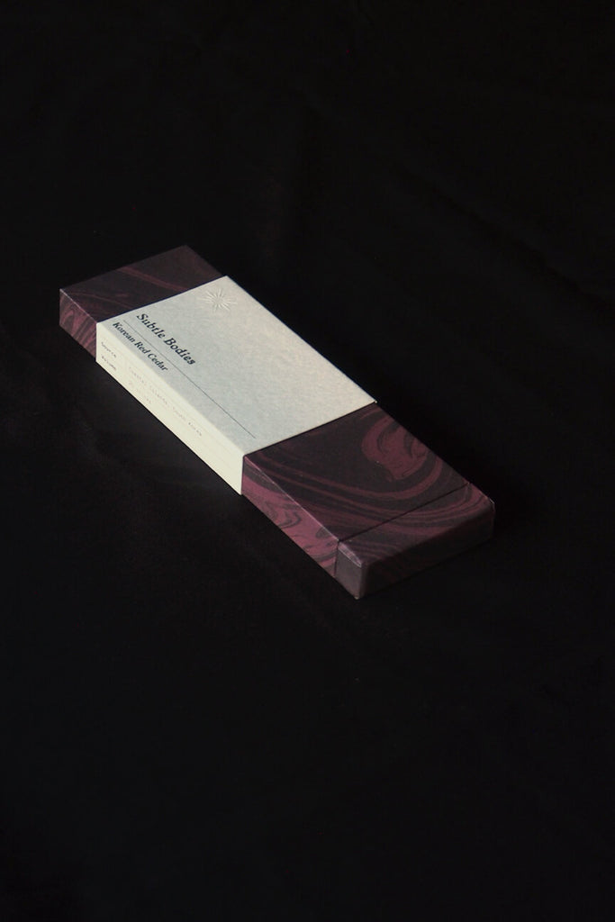 Subtle Bodies - Korean Red Cedar Incense - Kura Studio