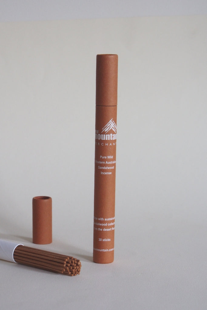 New Mountain - Premium Wild Sandalwood Incense - Kura Studio
