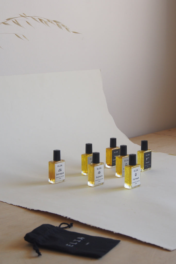 Elia natural perfume - Intrepid (Her) - Kura Studio