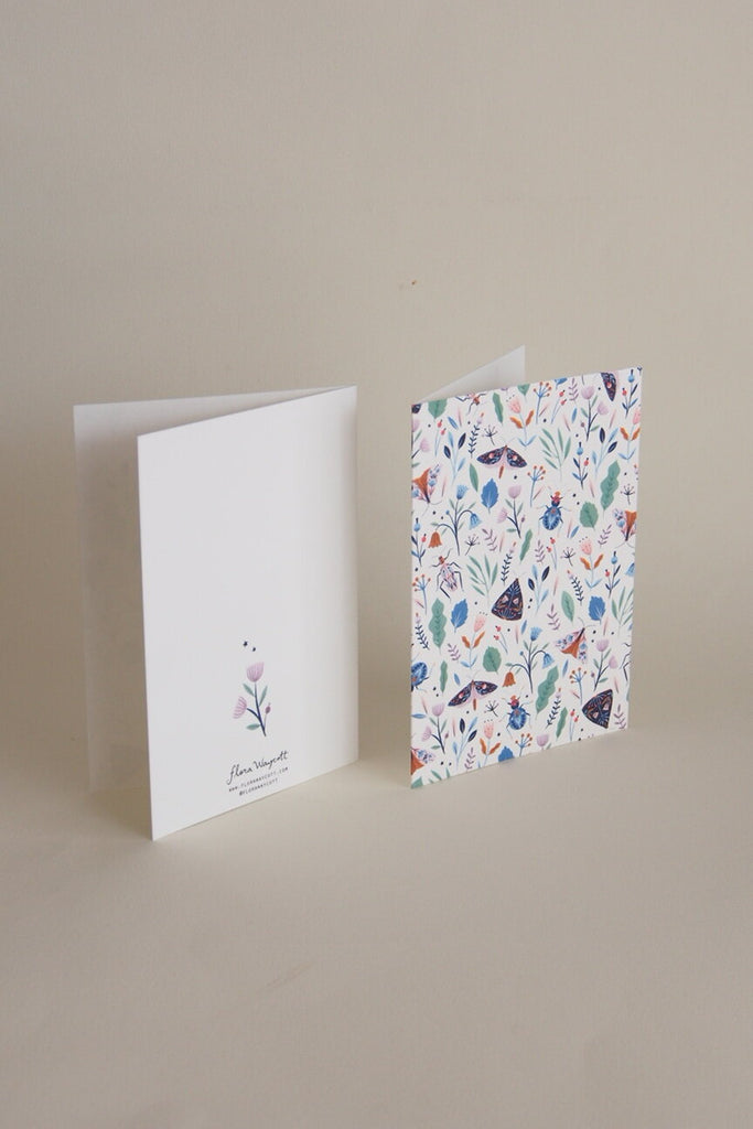 Flora Waycott Card - Bloom - Kura Studio