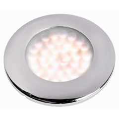 Spot LED - 16 SMD LED 12 en 24 V Satin Ring