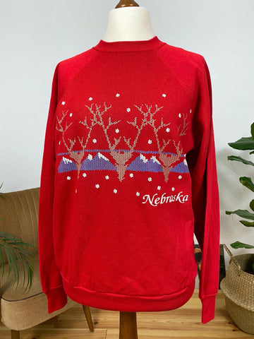 EU40 Nebraska Sweatshirt - Made in USA