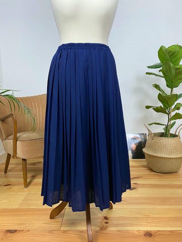 UK12/14 pleated skirt 80's