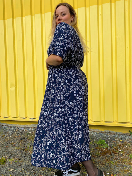 UK14/16 Green flower shirt
