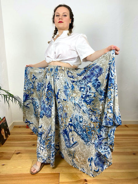 UK16/18 maxi skirt - Made in India