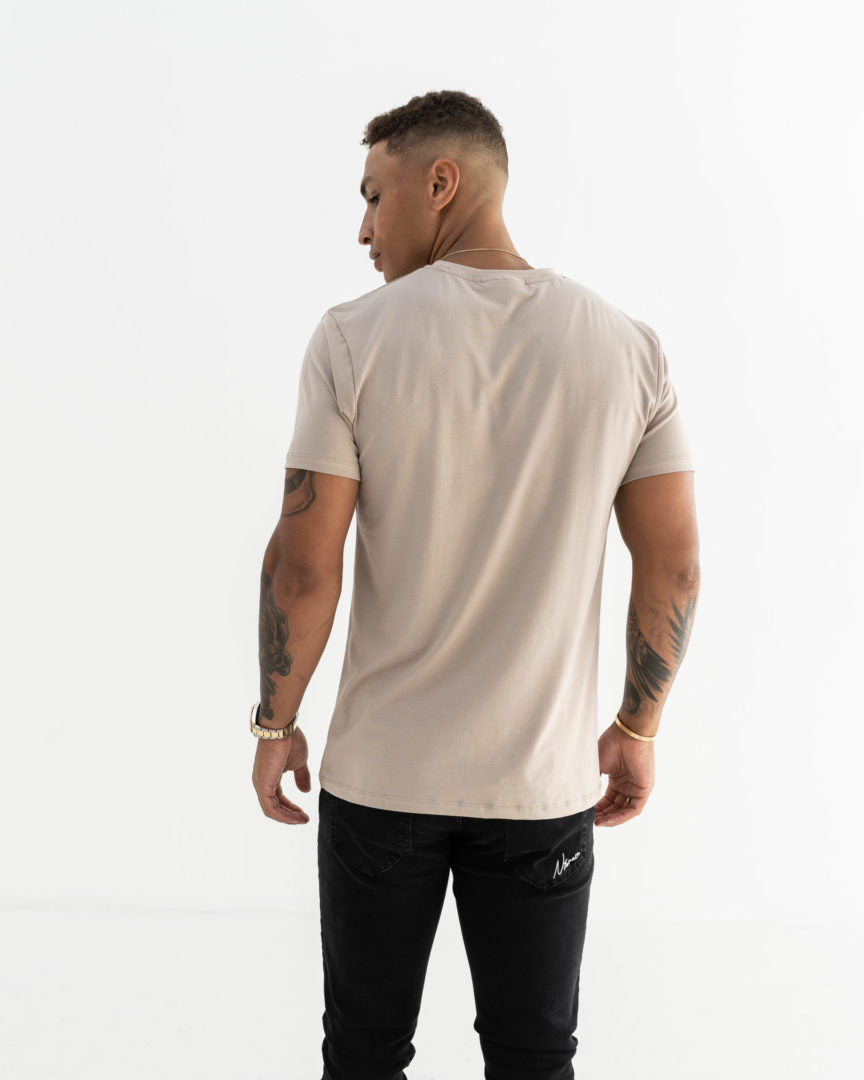 Essential Slim Fit T-Shirt - Stone