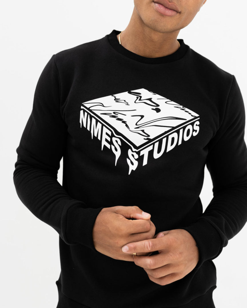 3D Graphic Crew Sweat