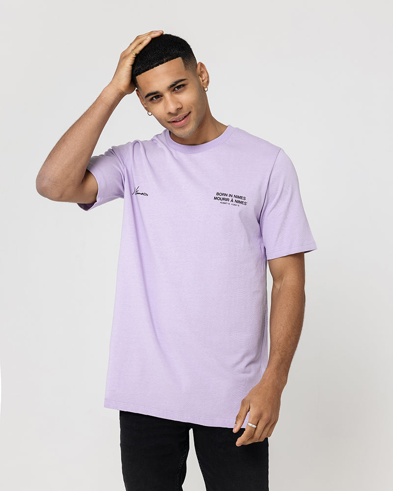 Born In Nimes T-Shirt - Lilac