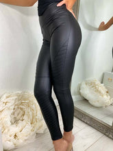 Load image into Gallery viewer, Becci Pu Faux Leather Leggings
