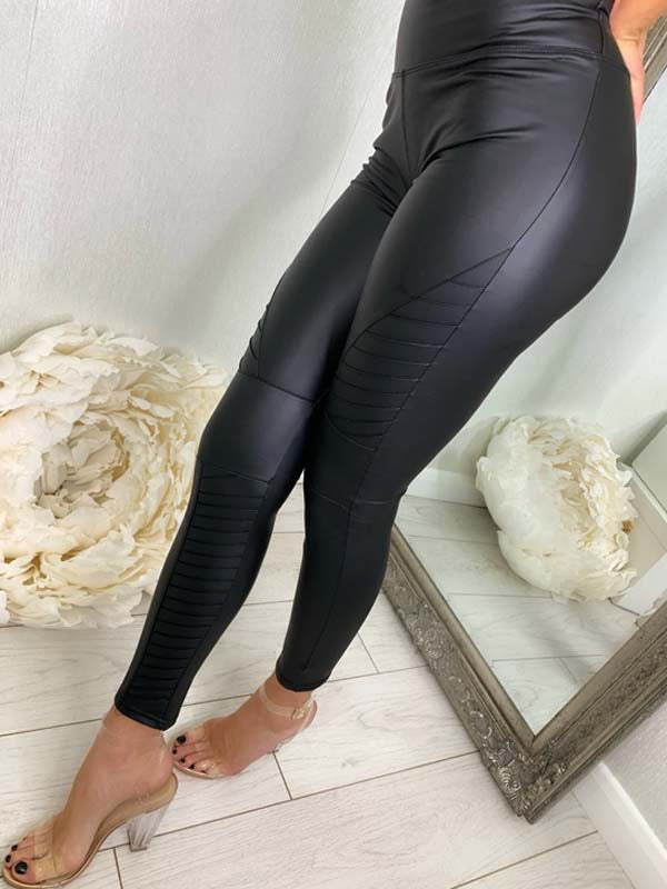Becci Pu Faux Leather Leggings