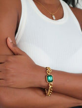 Load image into Gallery viewer, Krystal Thick Chain Bracelet