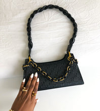 Load image into Gallery viewer, SOLA PU Twist Hand bag