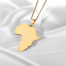 Load image into Gallery viewer, Map of Africa Necklace