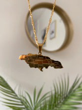 Load image into Gallery viewer, Jamaica Map Necklace