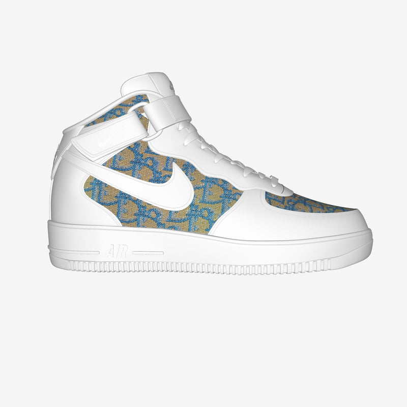 Nike Air Force 1 Mid White By Potzkai  Ken-Colja