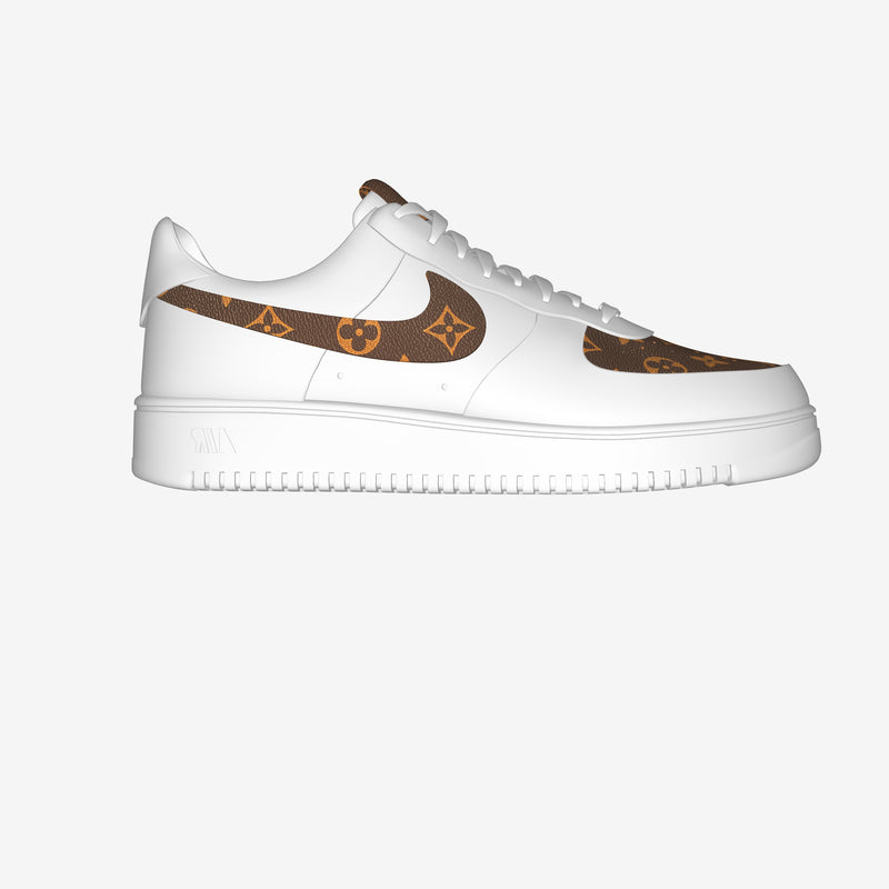 Air Force 1 Low White By Omar Ahmed