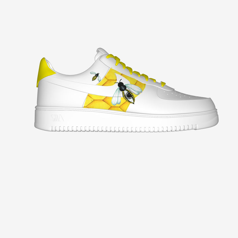 Air Force 1 Low White By Dario Muschitiello