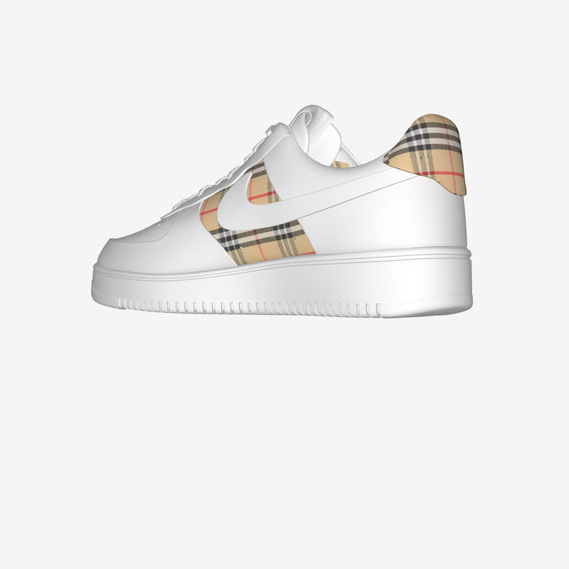 Air Force 1 Low White By Alessandro Buonavolta