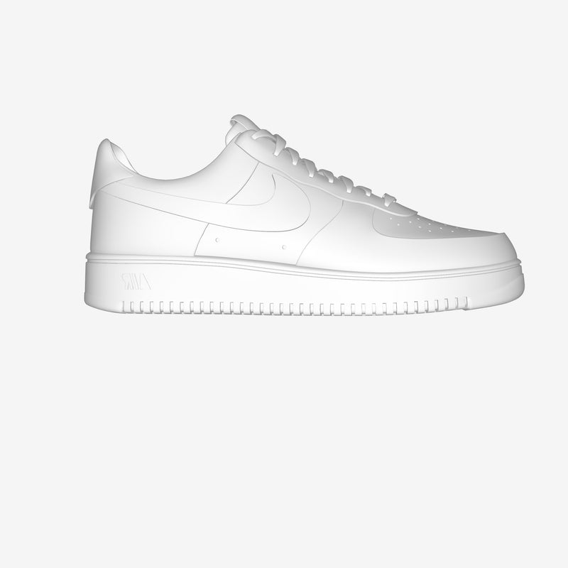 Air Force 1 Low White By Giuseppe Nobile