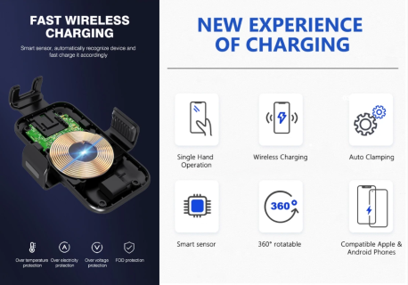 Add Comfort to Your Ride --New Experience of Charging